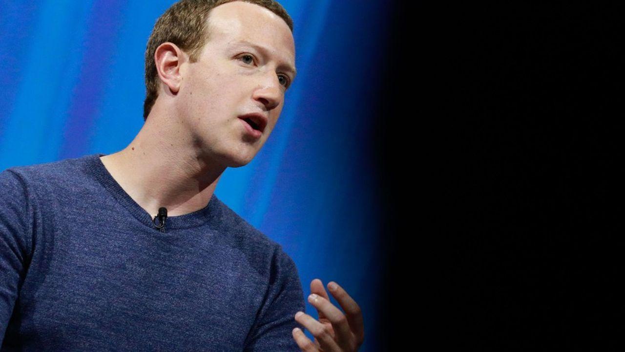 Depuis début 2018 et l'explosion du scandale «Cambridge Analytica», les enquêtes s'accumulent pour le groupe de Mark Zuckerberg (photo).