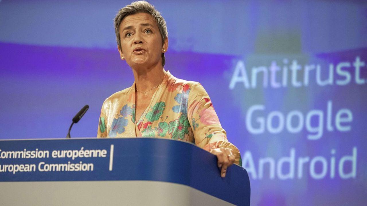 A travers la commissaireVestager, l'Europea affirmé son autorité vis-à-vis des mastodontes américains.
