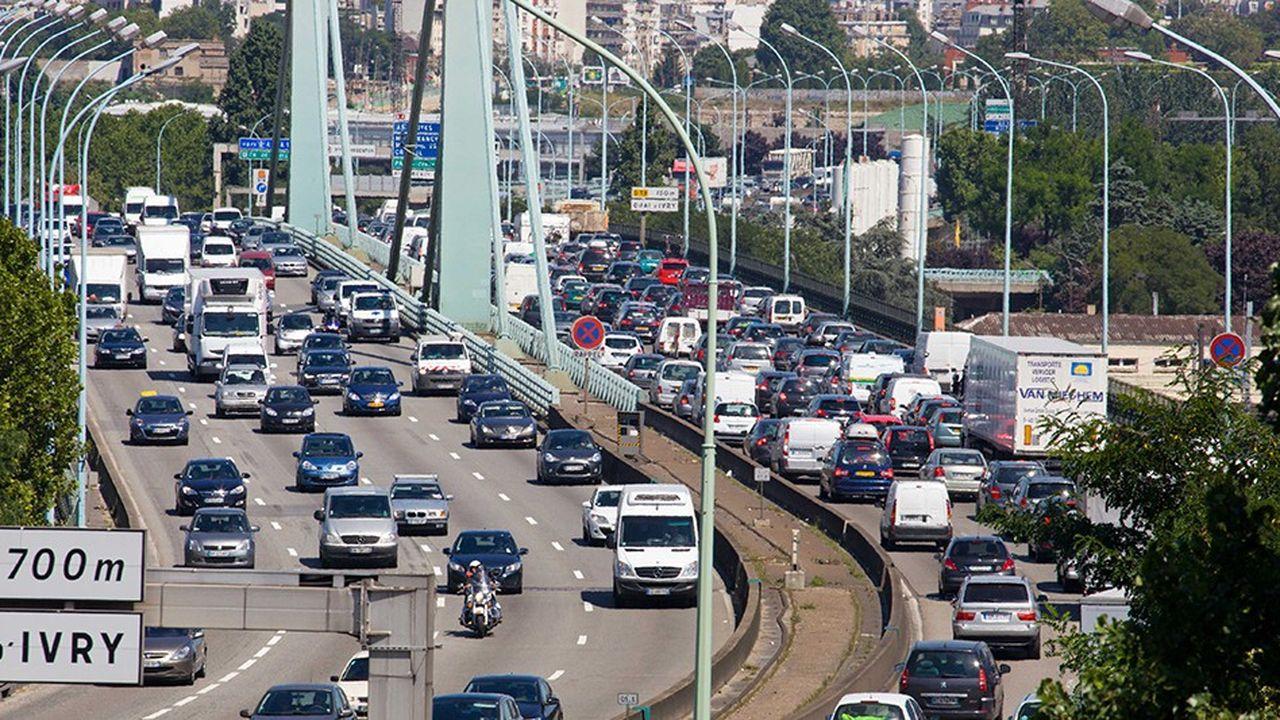 1,2million de véhicules empruntent le périphérique chaque jour.