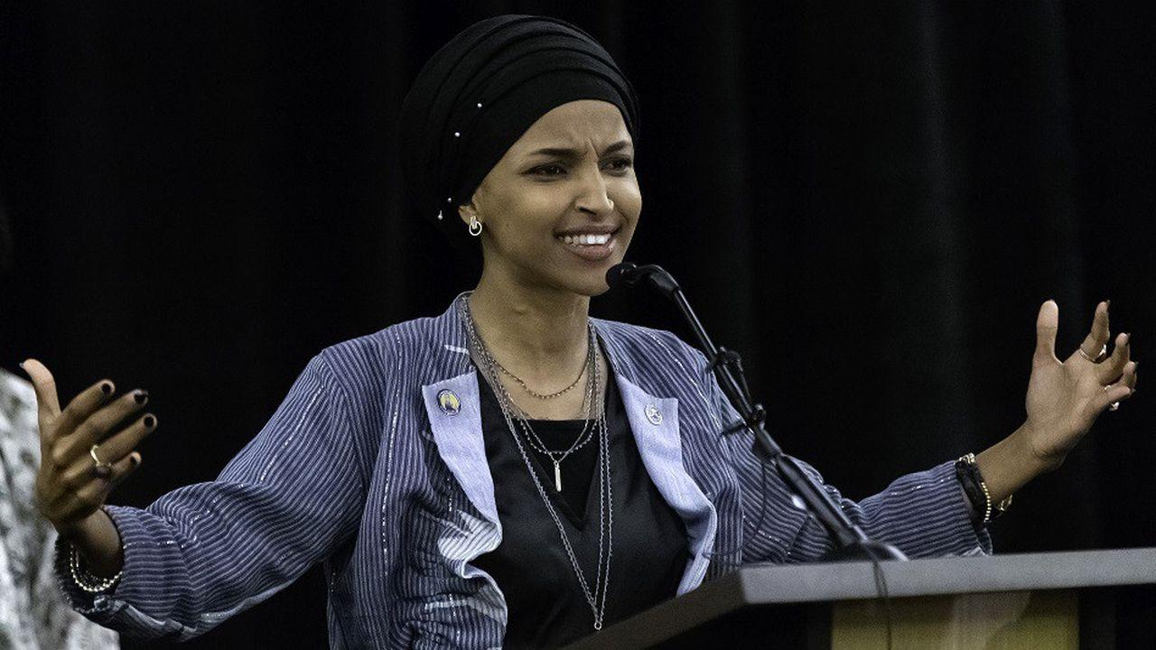Ilhan Omar est l'une des deux premières femmes de confession musulmane à faire leur entrée au Congrès