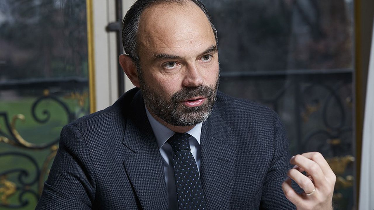 Edouard Philippe, Premier ministre, à Matignon le 16décembre 2018