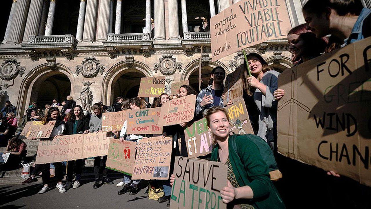 Une grève des lycéens et étudiants pour le climat est à nouveau prévue ce vendredi.