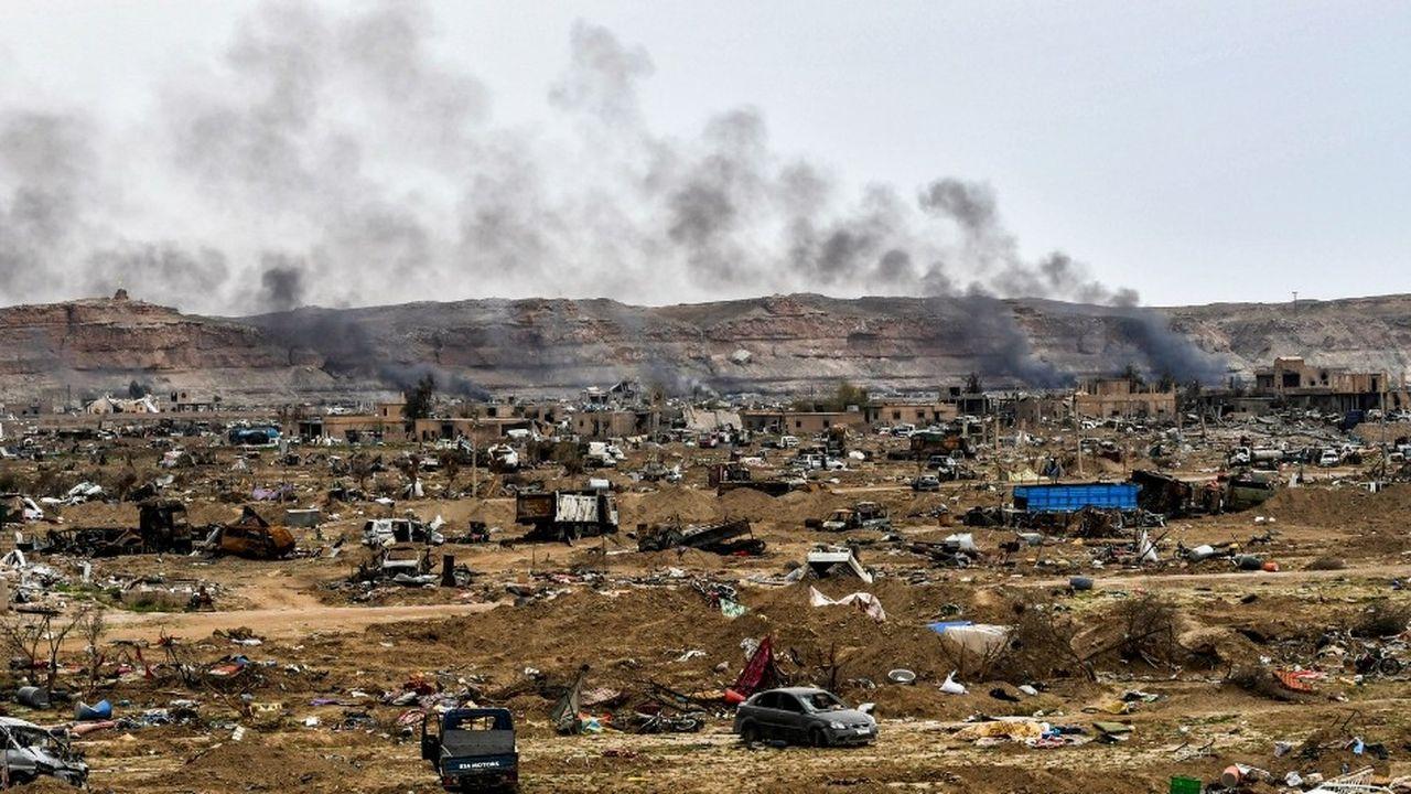 Le dernier réduit de l'organisation Etats islamique a été éliminé à Baghouz par les forces arabo-kurdes soutenues par les Etats-Unis en Syrie le 23mars dernier