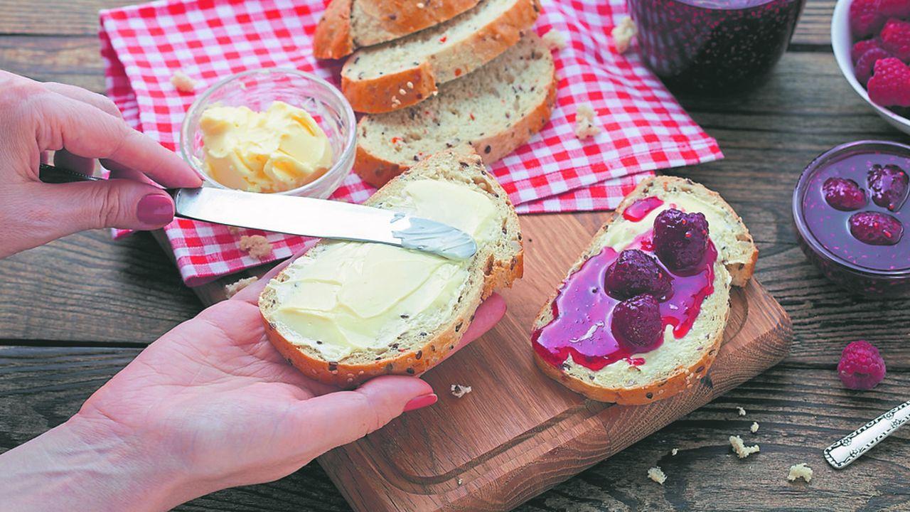 A raison de 8 kilos par personne et par an, les Françaissont les plus gros consommateurs du beurre dans le monde.