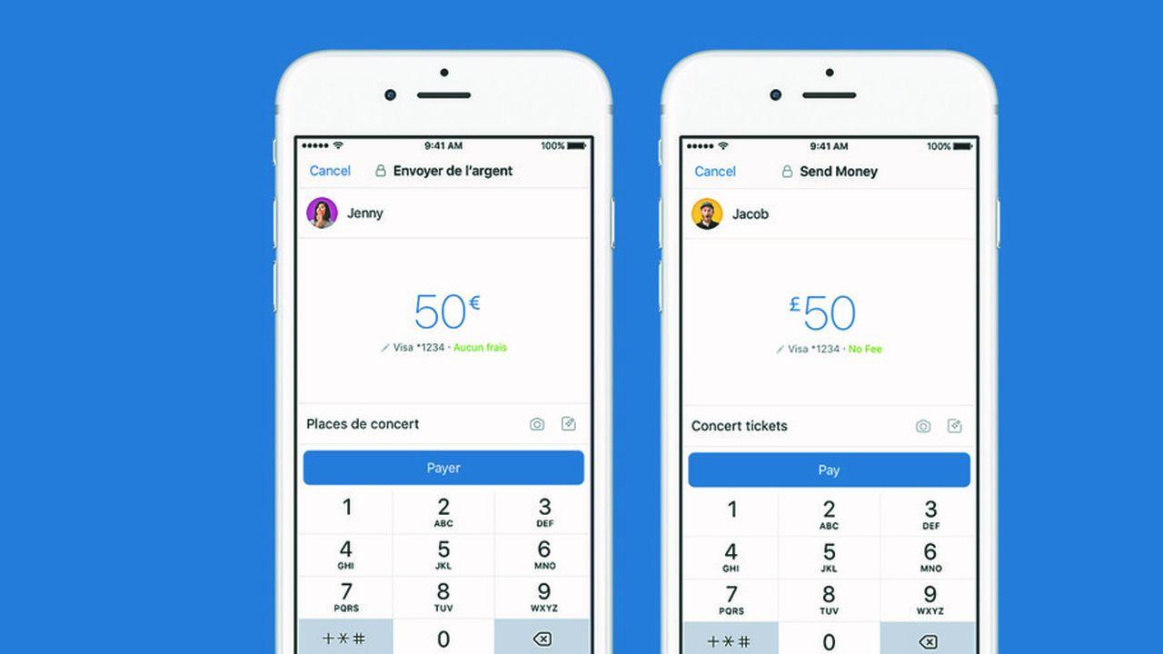Le service de paiement de personne à personne sur Messenger avait été lancé en novembre2017 en France.