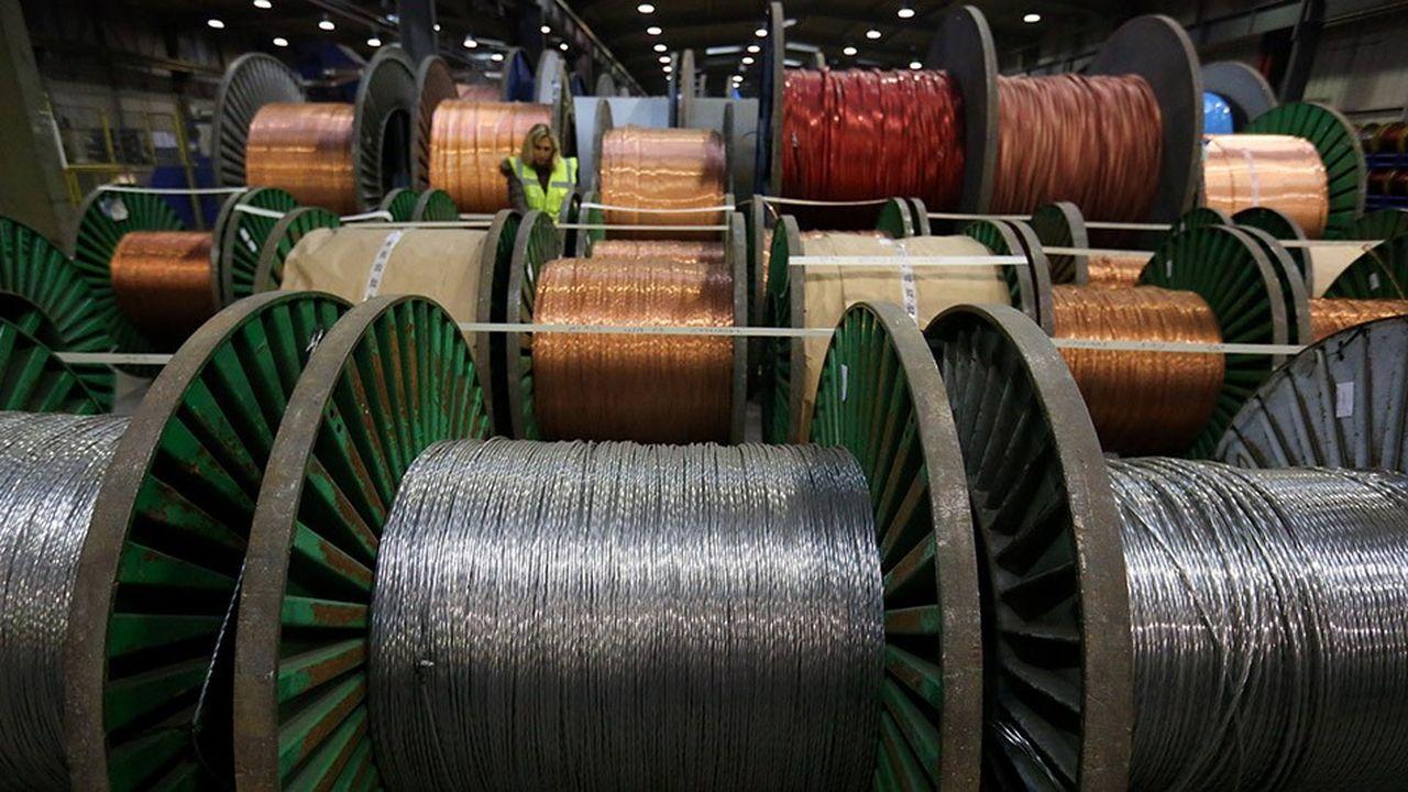 Au rythme de croissance actuelle, 650millions de tonnes de cuivre devraient être consommées dans les vingt-cinq prochaines années.