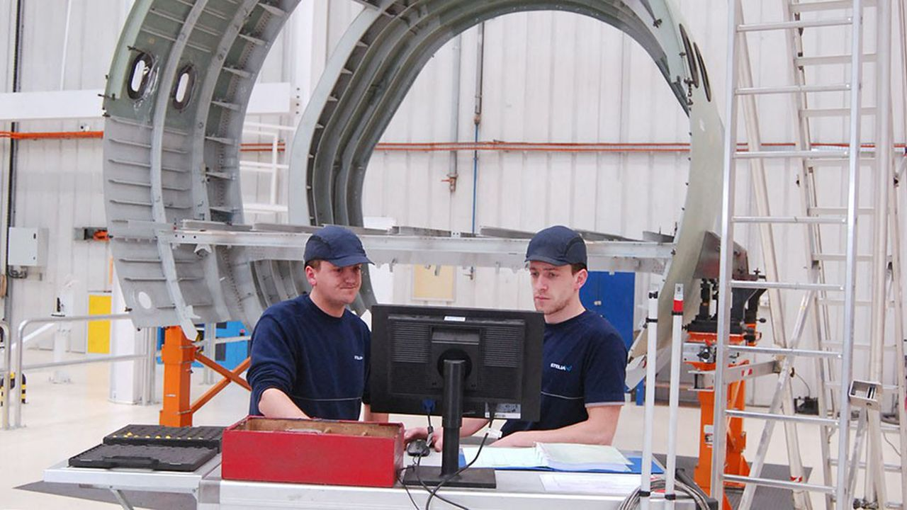 A Méaulte, Stelia Aerospace teste ses technologies innovantes de production.
