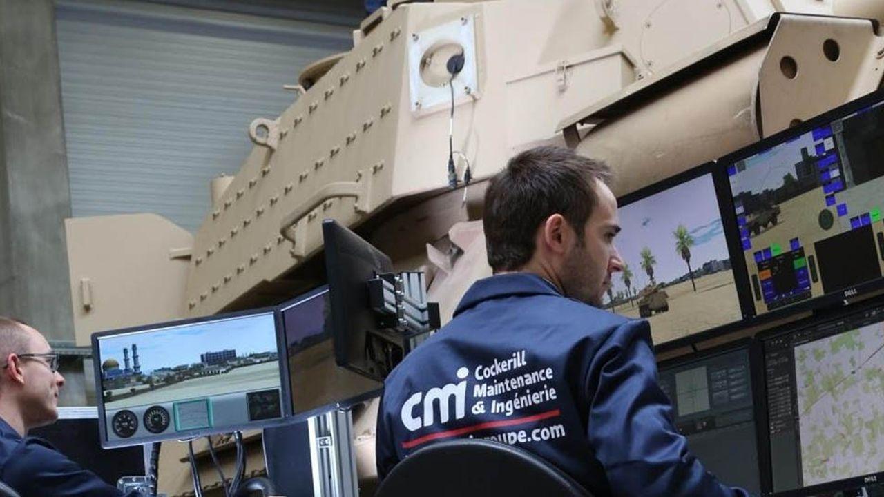 Agueris, le département de CMI dédié à la simulation, situé à Vélizy, en région parisienne, fournit à l'armée de terre française des outils de simulation embarquée.