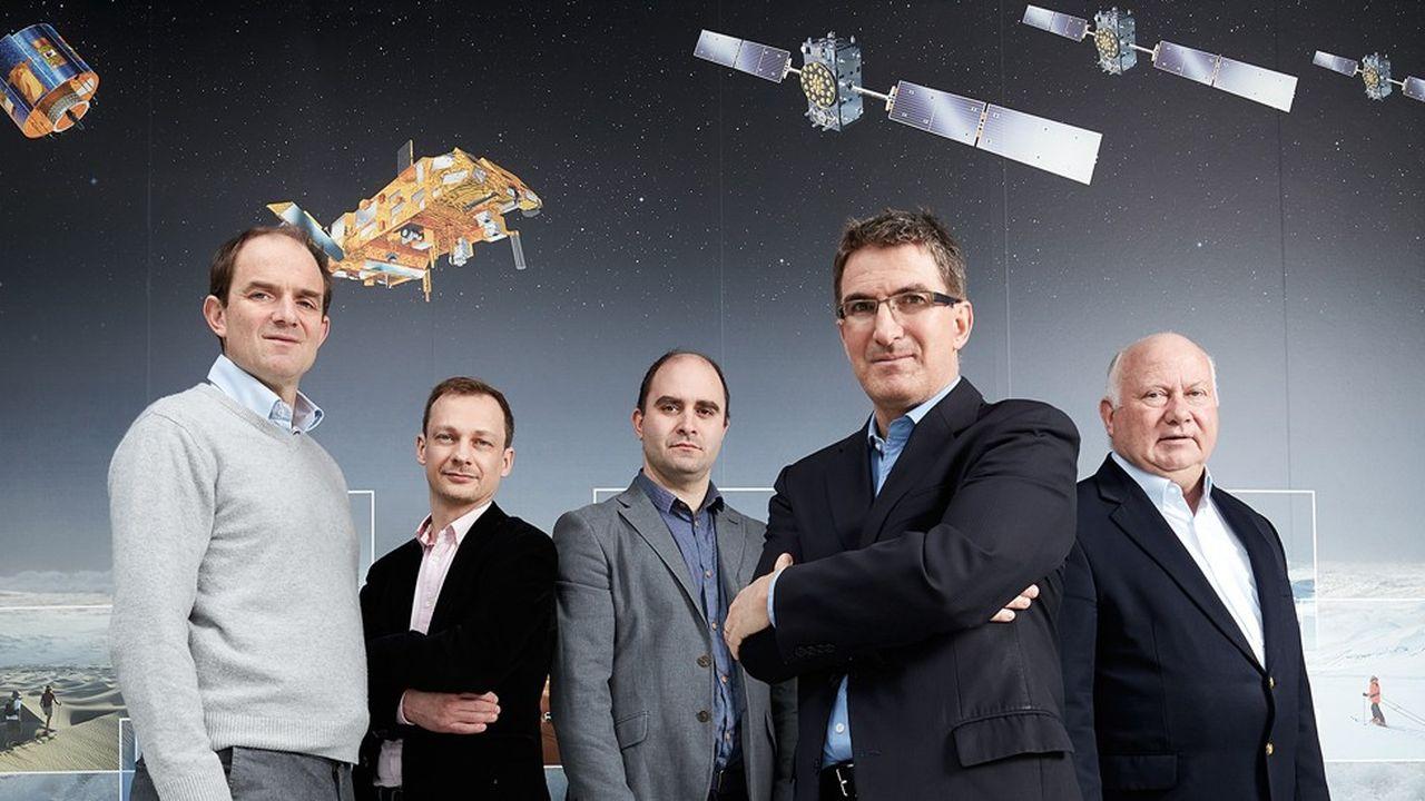 L'équipe de recherche européenne de Galileo.