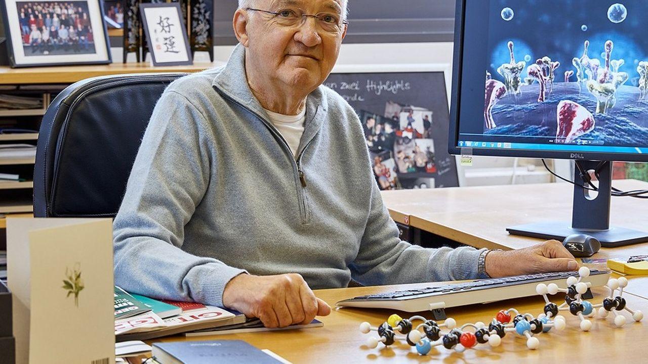 Le chercheur en génétique Axel Ullrich.