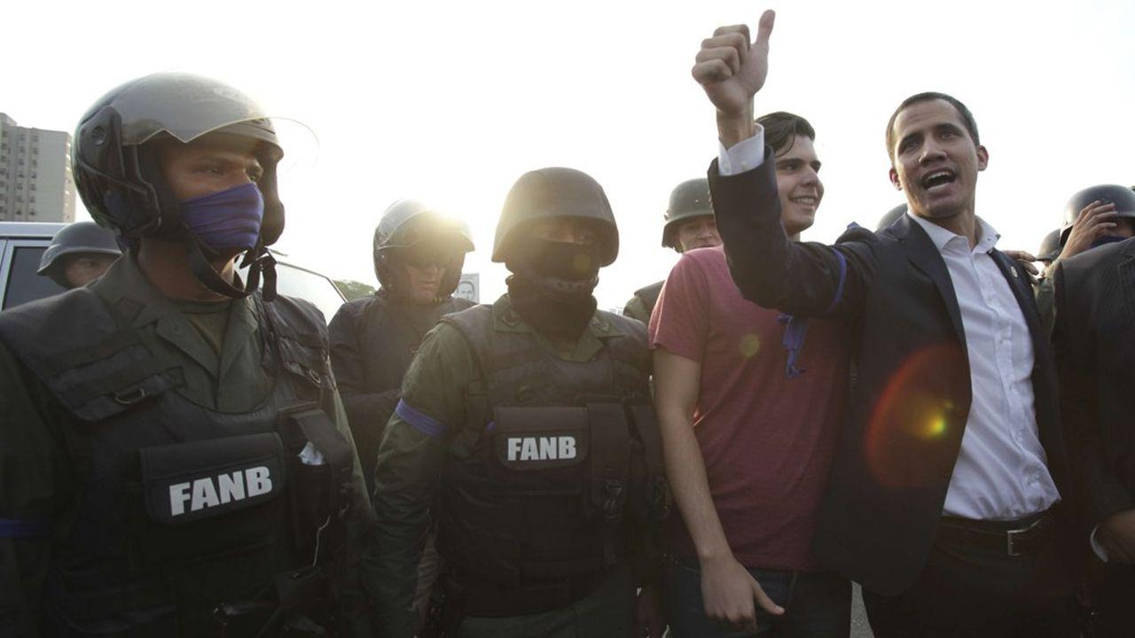Le gouvernement Maduro dénonce