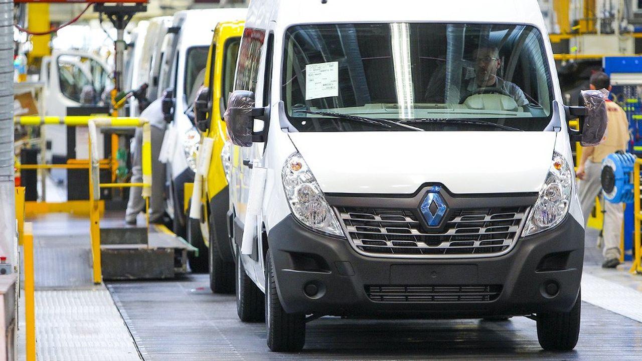 Le marché des véhicules utilitaires légers progresse en France.