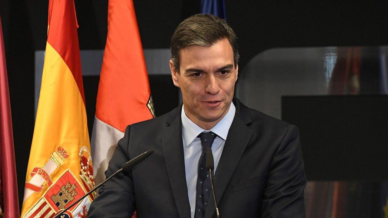 Pedro Sánchez va pouvoir profiter des vents qui soufflent en faveur de l'économie espagnole.