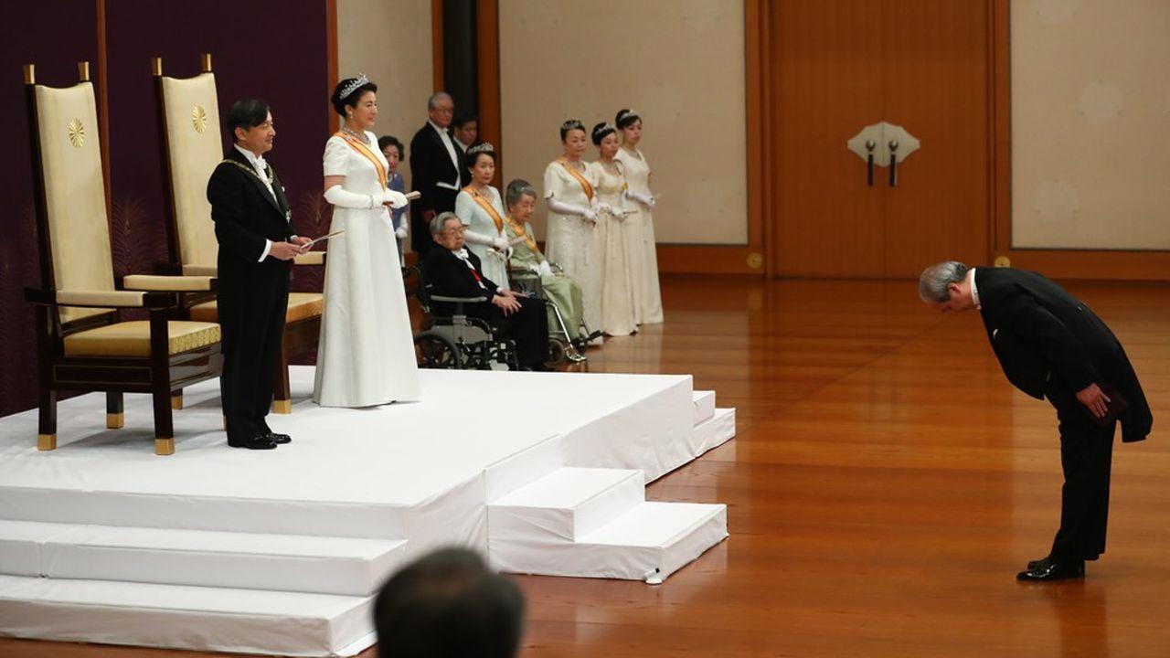 Le Japon est entré dans une nouvelle ère, avec l'empereur Naruhito et sa femme Masako