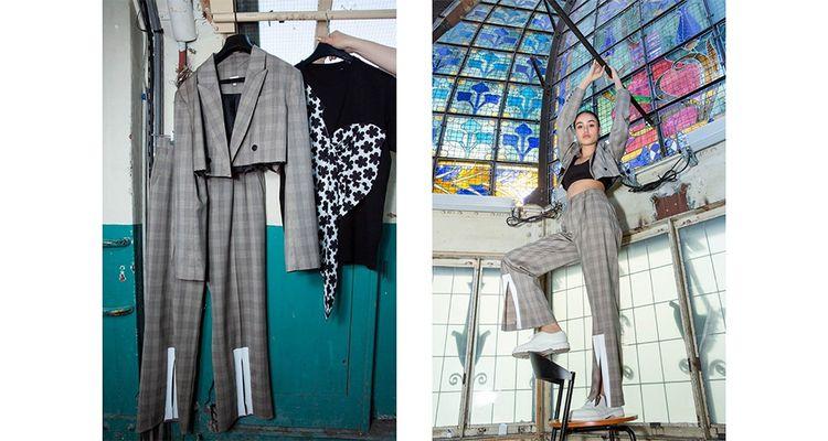 Le grand magasin Le Printemps Haussmann a chargé la créatrice Andrea Crews de faire, à partir de ses invendus, une collection capsule de 200 pièces uniques.