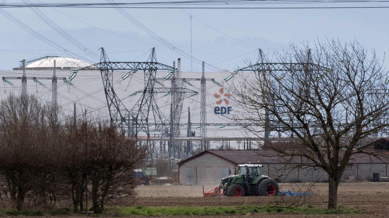 La centrale nucléaire EDF de Fessenheim (Haut-Rhin), en Alsace, qui devrait fermer en 2020.