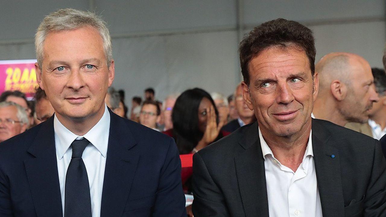 La perspective d'un coup de rabot sur les niches fiscales sera au coeur d'un échange ce jeudi matin entre Geoffroy Roux deBézieux, le président du Medef, et le ministre de l'Economie et des Finances, Bruno LeMaire.