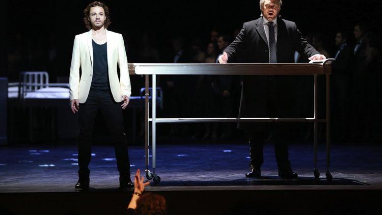 L'opéra «Don Giovanni» était dirigé musicalement par Jérémie Rhorer en 2013 au Théâtre des Champs-Elysees. En mars dernier, il était à la baguette pour «Ariane à Naxos».
