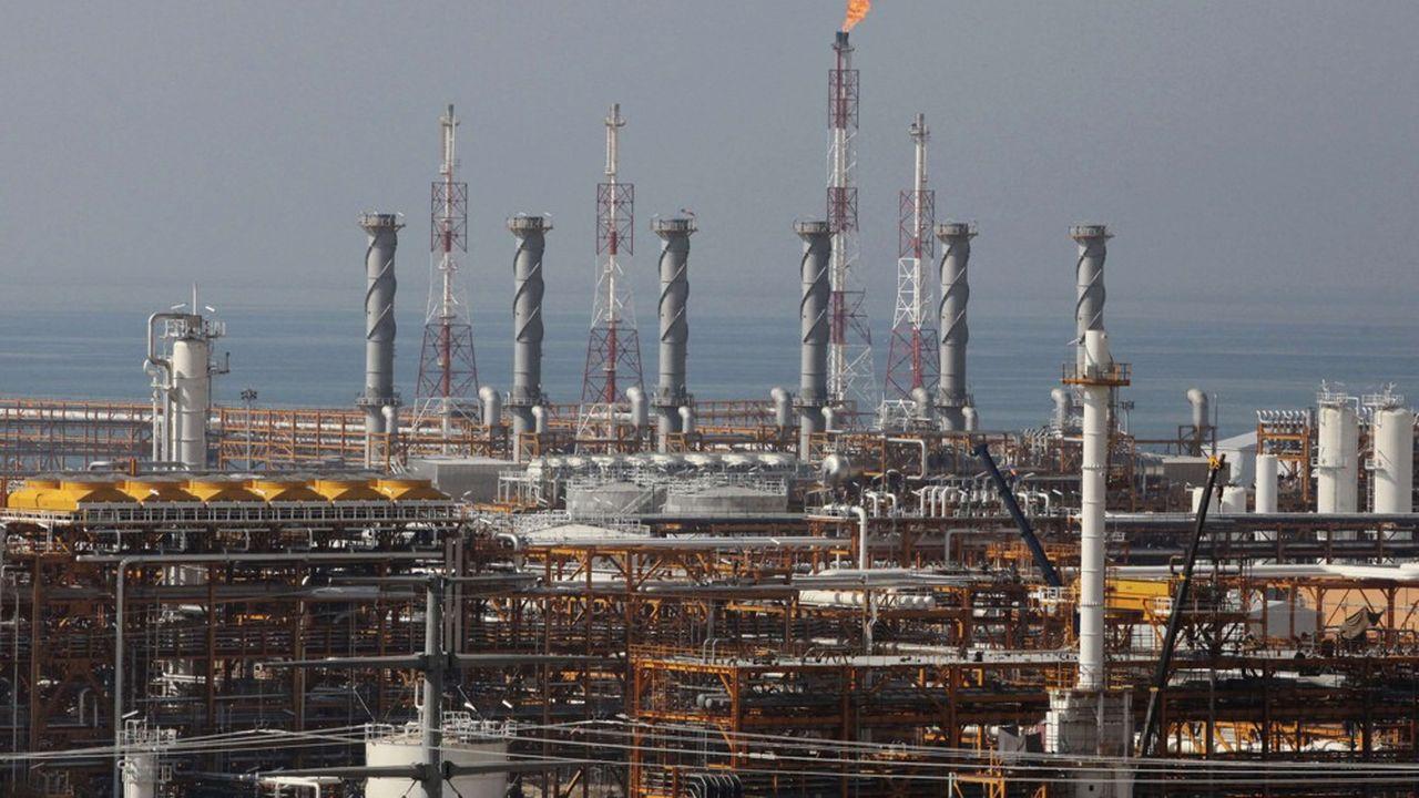 Les raffineries de gaz, comme celles-ci, ou de pétrole en Iran n'ont pluspour clients depuis ce jeudi que des entités prêtes à se voir fermer le marché américain.