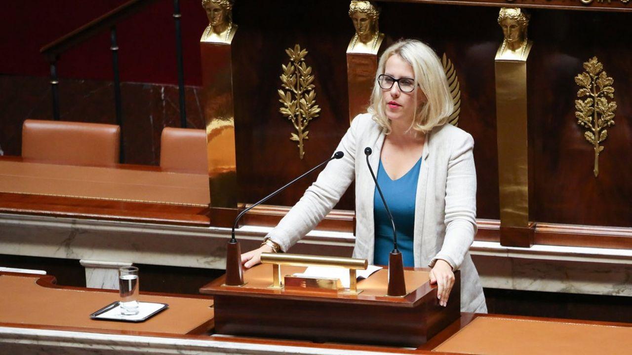 La députée LREM de l'Isère Emilie Chalas, rapporteure du projet de réforme de la fonction publique.