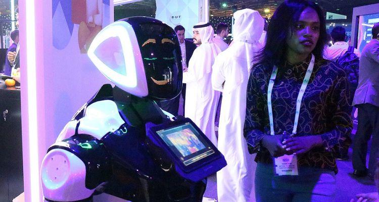 Lors du salon AI Everything qui s'est déroulé à Dubaï le 29avril et le 1ermai 2019.