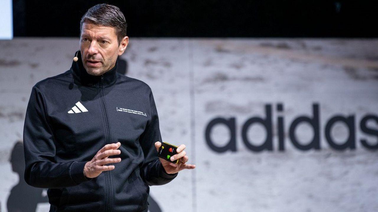 Kasper Rorsted est à la tête du directoire d'Adidas depuis 2016.