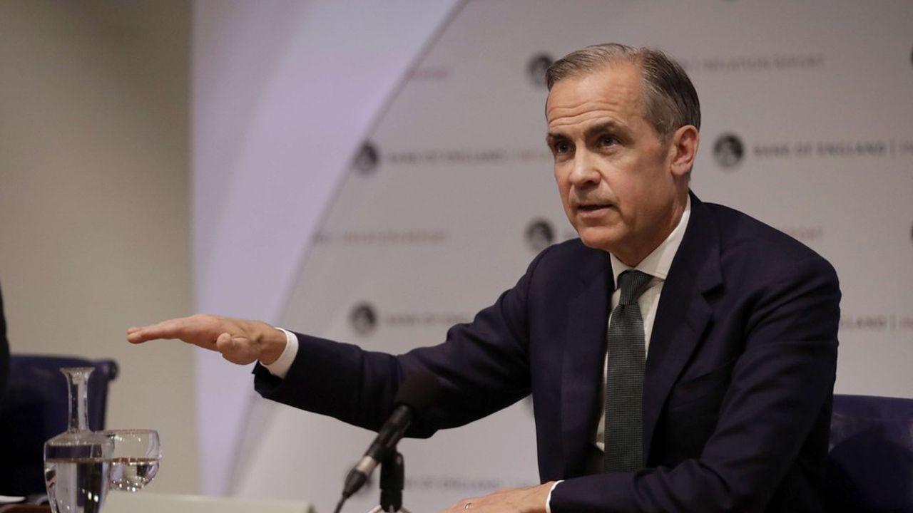 Mark Carney le gouverneur de la Banque d'Angleterre