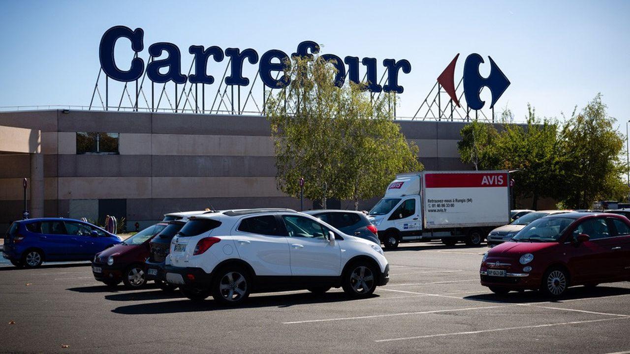 Jusqu'à 3.000 départs dans le cadre d'une rupture collective — Carrefour