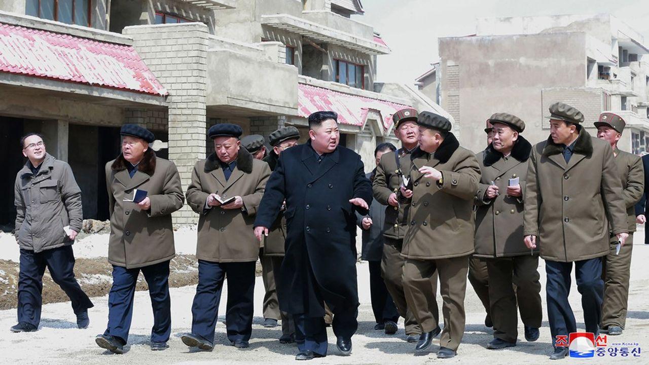 La Corée du Nord procède à des tirs de projectiles
