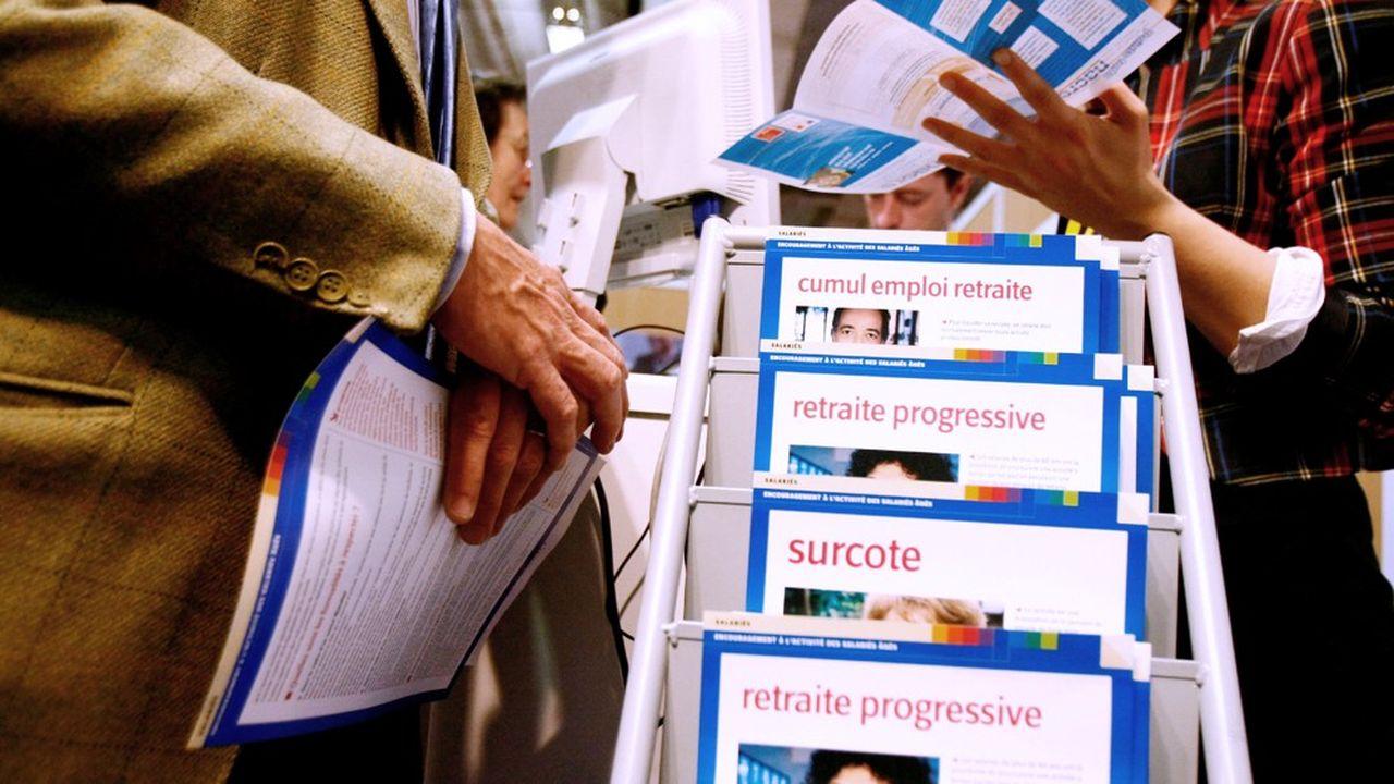 Parmi les objectifs de la réforme Delevoye : faciliter le maintien en activité des seniors.