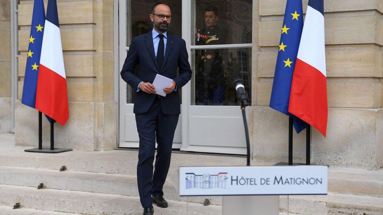 Le Premier ministre, le 29avril sur le perron de Matignon, annonçait le lancement ce lundi de la «mobilisation générale pour l'emploi».
