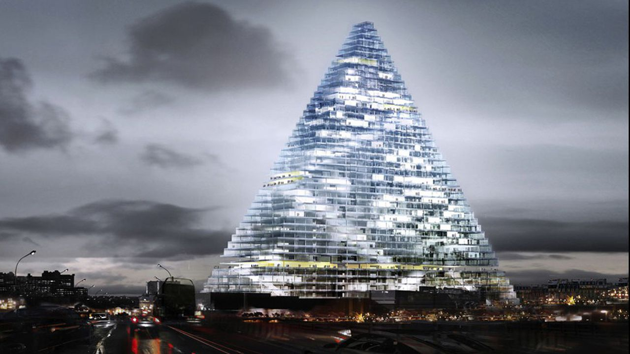 La nouvelle version de tour Triangle comprendra un hôtel en ses flancs, un incubateur d'entreprises et plus d'équipements publics.