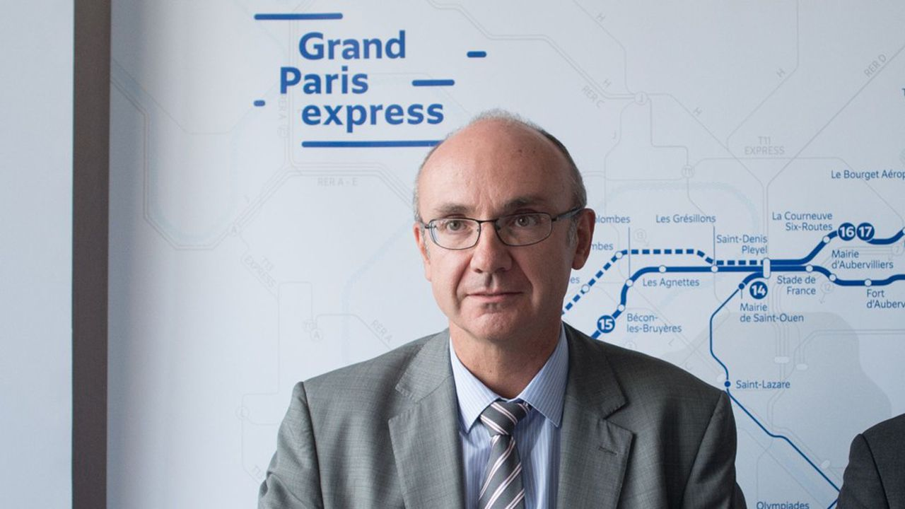 Thierry Dallard, le président du directoire de la Sociéte du Grand Paris.
