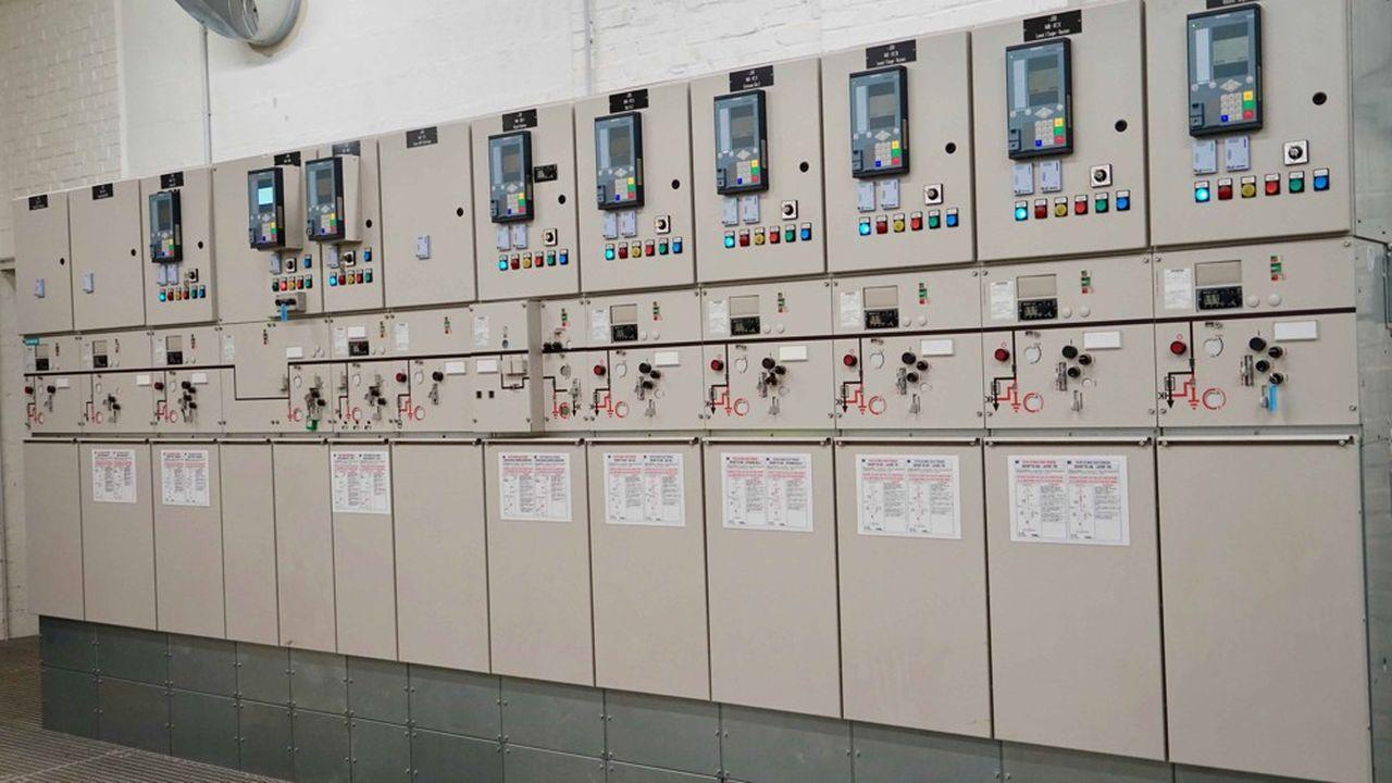 L'un des«tableaux électriques » réalisés par MK Energies pour une sucrerie.