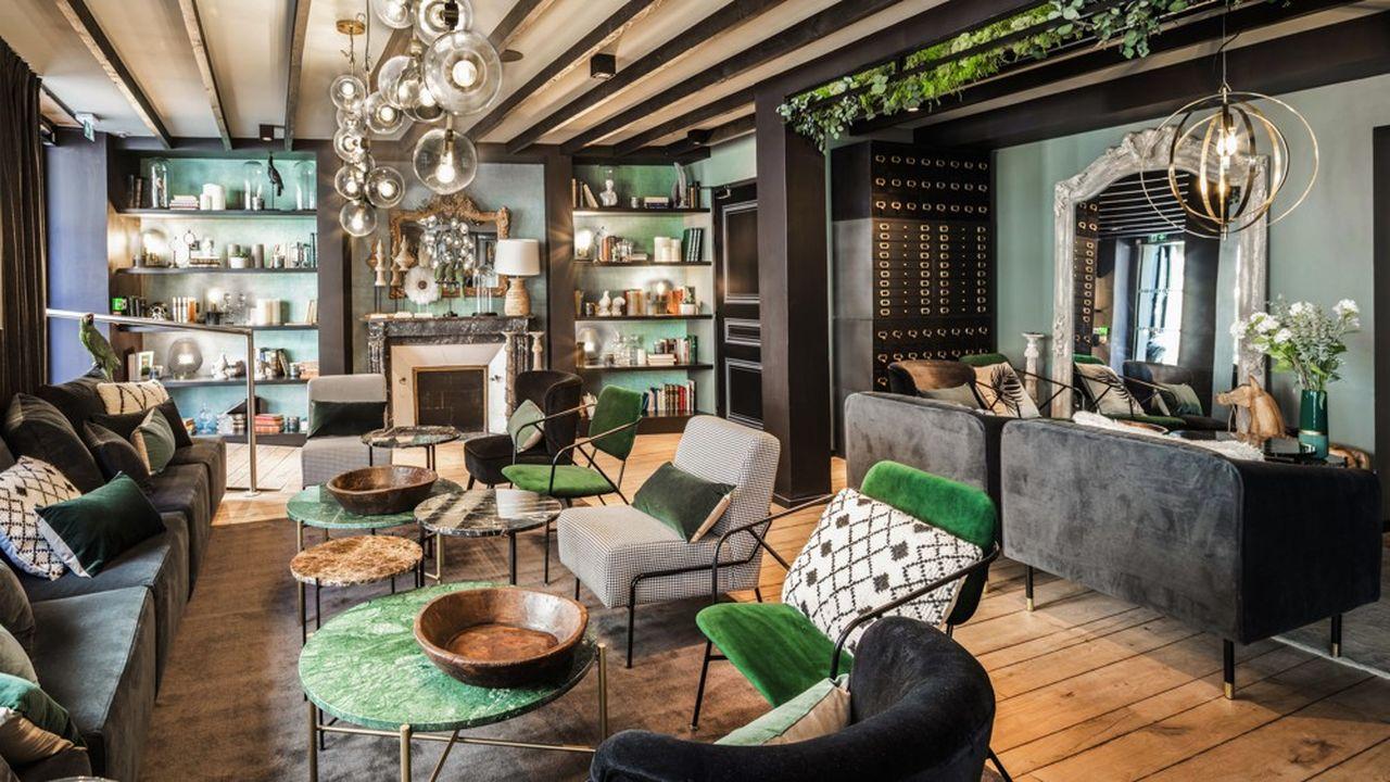 Le «Maisons du Monde Hôtel & Suites» affiche quatre étoiles dans le coeur historique de Nantes.