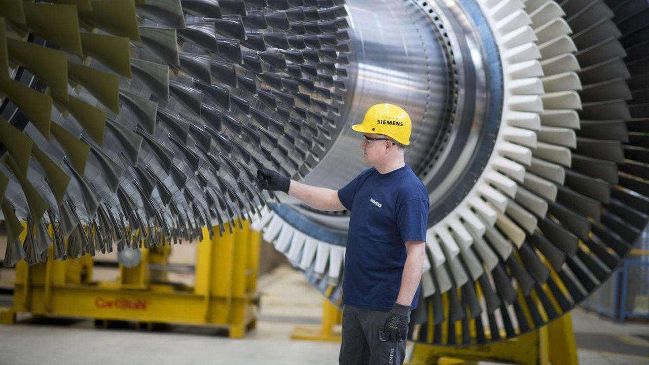 La division de turbines pour l'énergie conventionnelle fossile de Siemens a pesé l'an dernier 12,4milliards d'euros de chiffres d'affaires pour des effectifs de 44.000 employés.