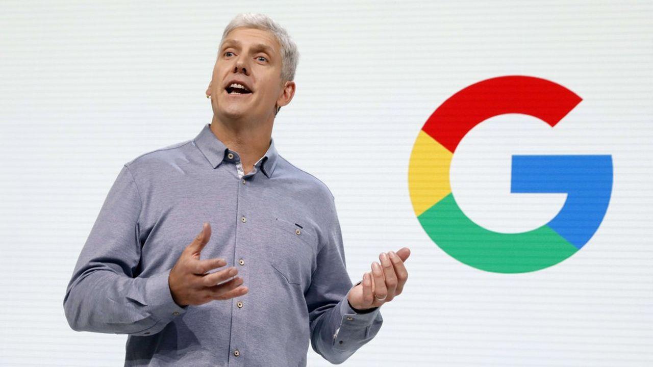 Rick Osterloh, le vice-président de Google responsable du hardware.