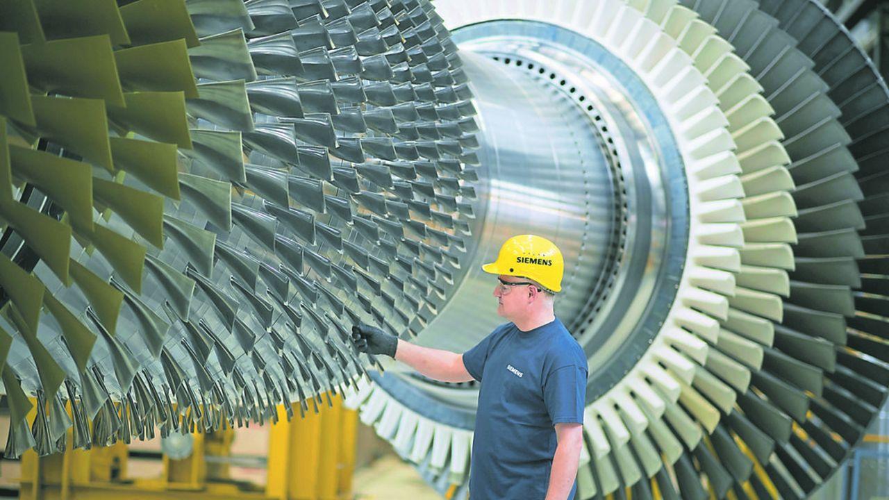 La division de turbines de Siemens est moins rentable que ses activités dédiées à l'automatisation des usines.