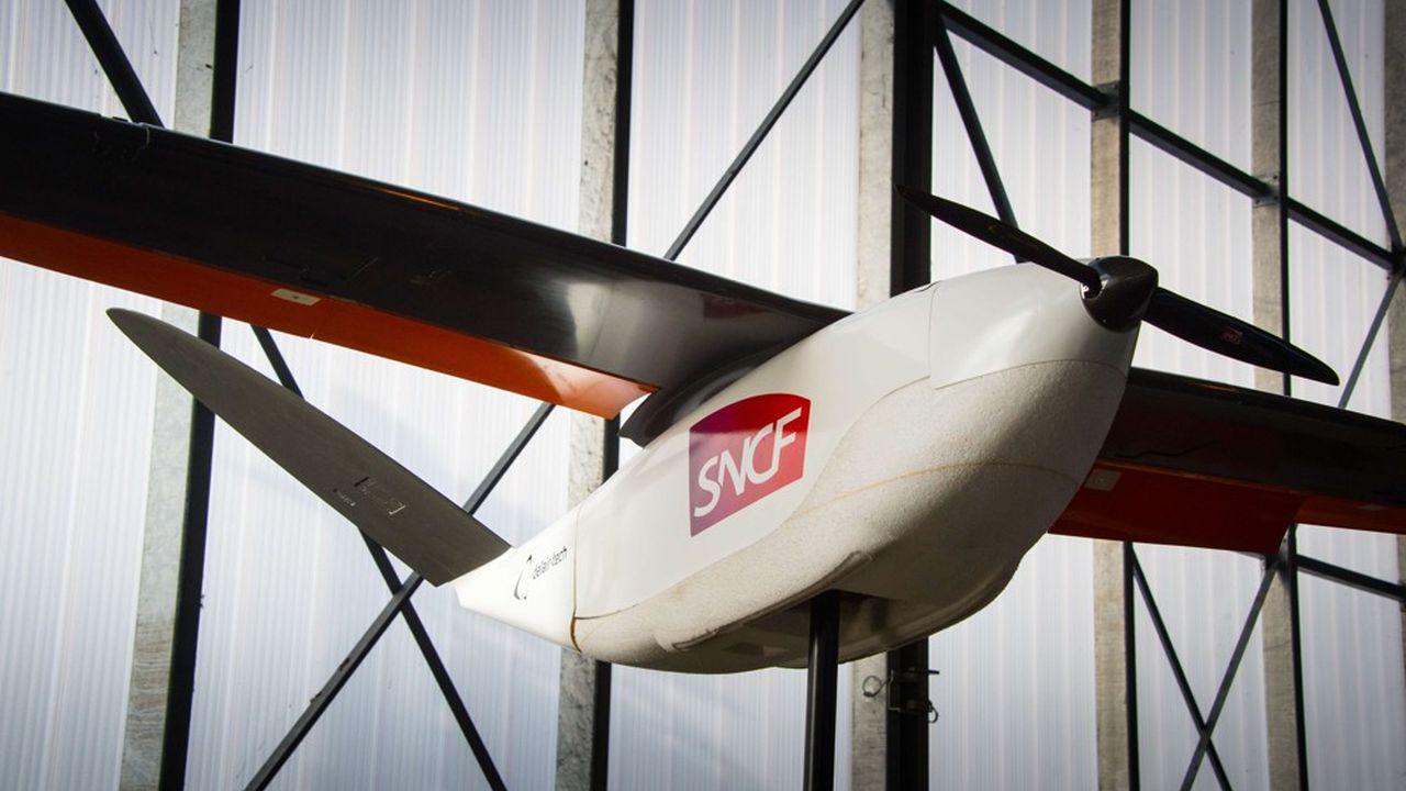 Altamétris, la filiale de SNCF Réseau spécialisée dans l'usage des drones, est un exemple d'intraprenariat que le groupe voudrait reproduire dans le cadre de sa politique de soutien aux jeunes pousses.