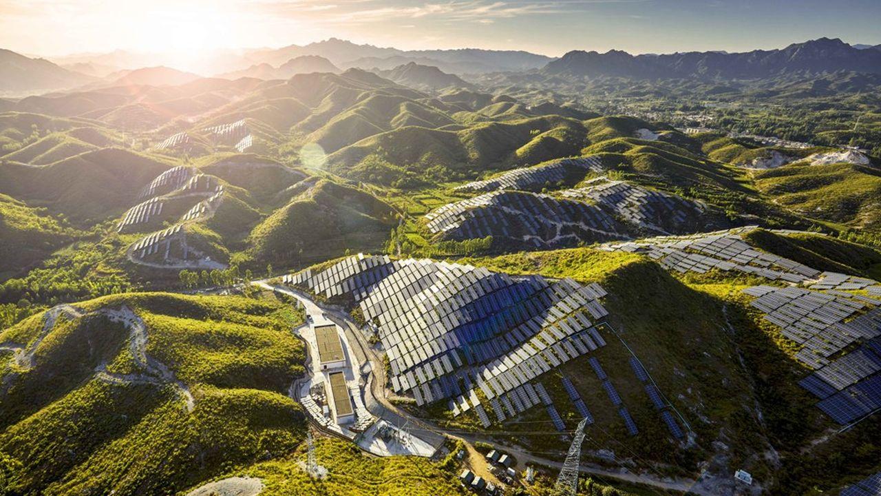 La Chine donne depuis quelques années le «la» en matière d'énergies vertes, avec près de 45% de la puissance installée mondiale l'an dernier.