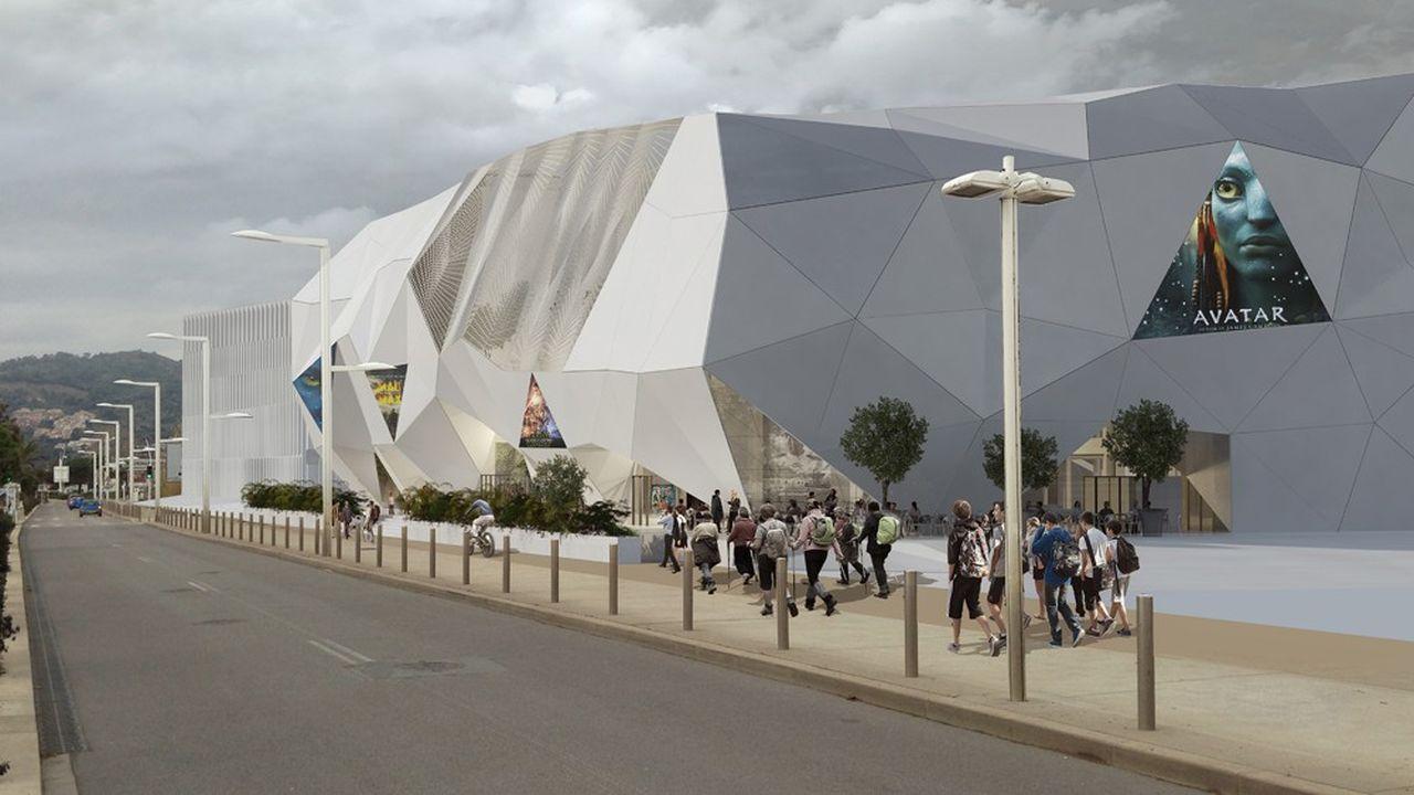 Cineum, avec ses 12 salles pour 2.426 sièges, devrait ouvrir ses portes pour le Festival international du film 2020.
