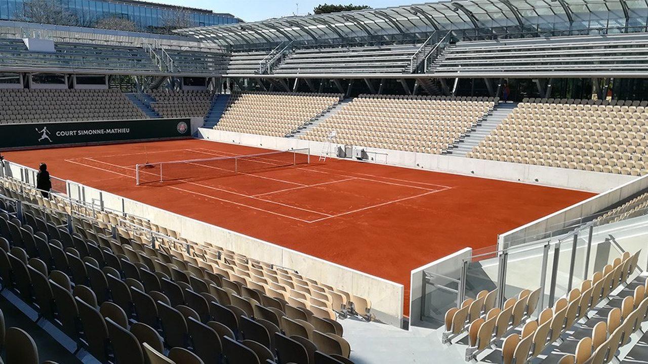A Roland-Garros, le court des serres d'Auteuil inauguré