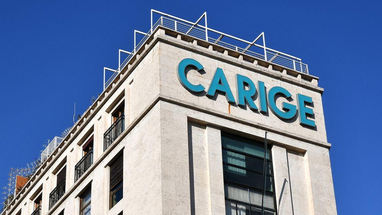 Banca Carige est dirigée par trois administrateurs extraordinaires de la BCE depuis l'échec d'une aumgentation de capital en fin d'année.