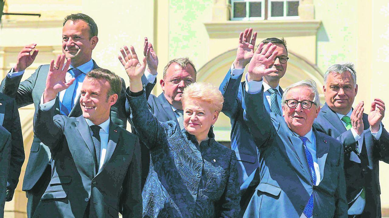 Les Européens ont tout fait pour préserver l'apparence de l'unité et de la solidarité, jeudi à Sibiu.