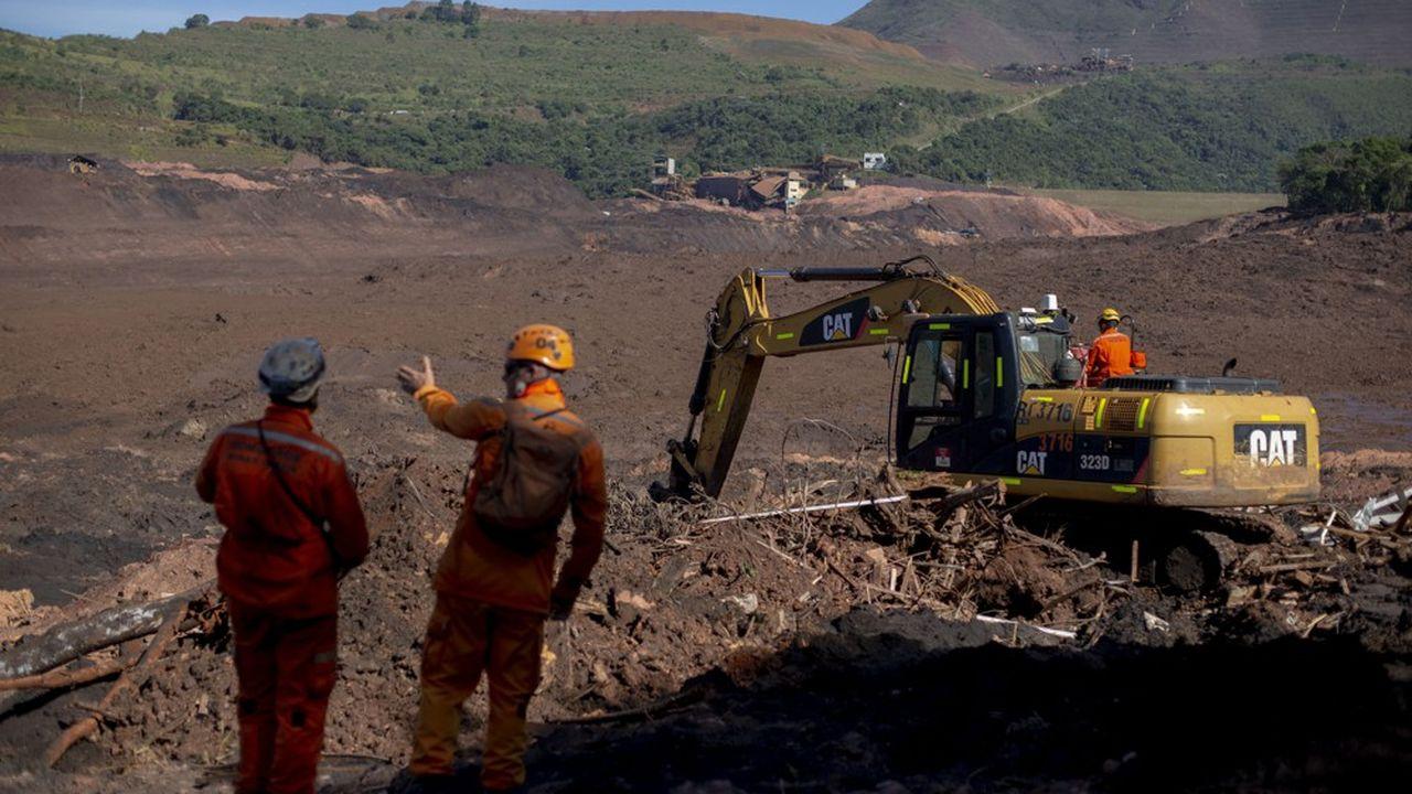 Le barrage de Brumadinho, dans le sud-est du Brésil, a cédé en janvier, provoquant une catastrophe humaine (230 morts) et environnementale