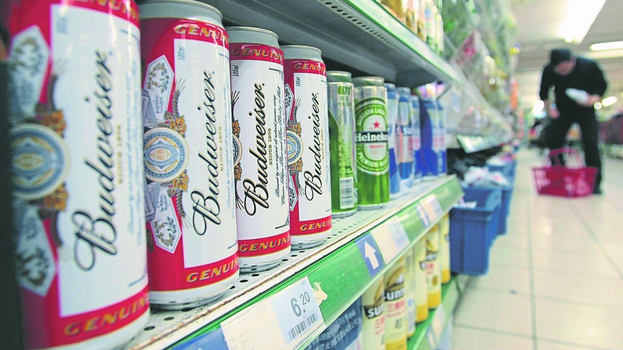 La bière américaine Budweiser est une des locomotives sur le marché asiatique depuis quatre ans