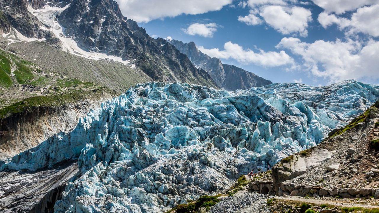 Les glaces du Mont-Blanc ont servi d'« archives » aux scientifiques pour analyser l'état de l'atmosphère en une époque reculée.