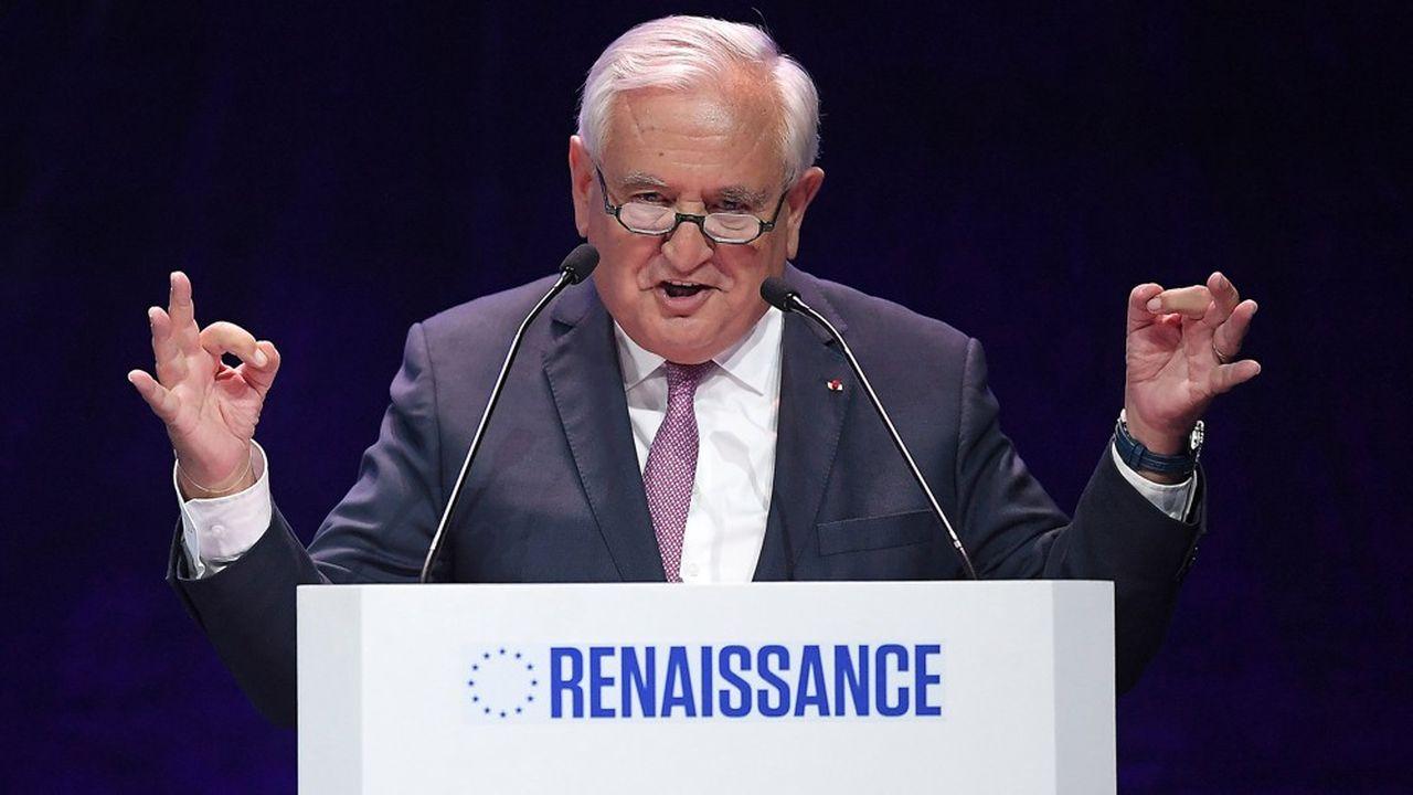 Invité du meeting LREM samedi dernier à Strasbourg, l'ancien Premier ministre Jean-Pierre Raffarin a apporté un soutien appuyé à la liste de Nathalie Loiseau