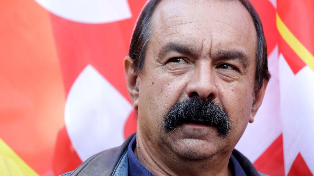 Le secrétaire général de la CGT, Philippe Martinez .