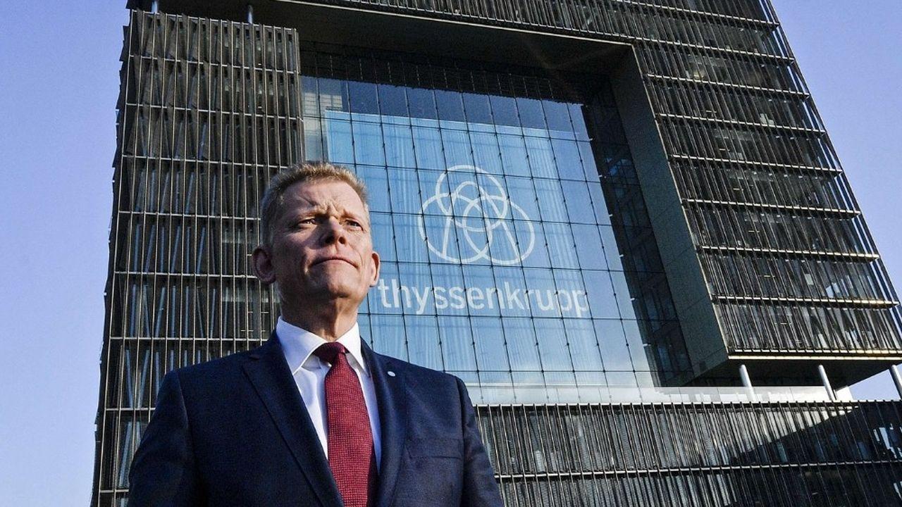 Le président du directoire de Thyssenkrupp, Guido Kerkhoff, ne croit pas que dans le domaine de l'acier, une fusion importante soit possible au regard de la position actuelle de la Commission européenne